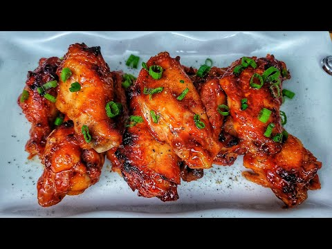 Sweet and Spicy BBQ Wings   Crockpot Recipes
