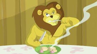 Eena Meena Deeka | Lions Dinner | Funny Cartoon Compilation | Cartoons for Children
