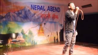 Shiva Pariyar Program Münster Germany , Pilayo Sathile  ,Nepali Night