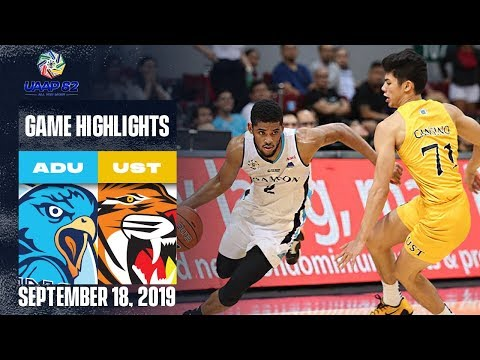 AdU vs. UST - September 18, 2019  | Game Highlights | UAAP 82 MB