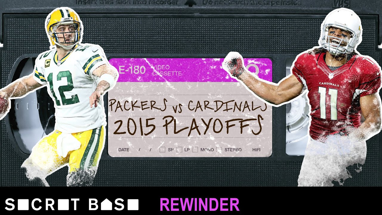 Larry Fitzgerald's overtime duel with Aaron Rodgers needs a deep rewind | 2015 Divisional Playoffs thumbnail