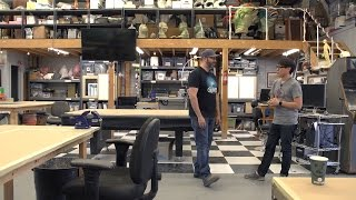 Maker Spaces: Touring Frank Ippolito