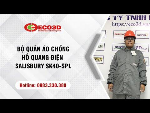 Khám phá bộ quần áo chống hồ quang điện Salisbury SK40-SPL