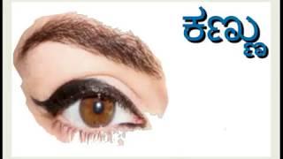 Kannada Consonants, Vyanjanagalu, Varnamale, Poovra Prathamik, Shikshan, Pad Parichaya, Akshar Maale