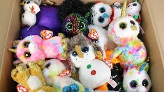 Beanie Boo Mystery Box from TY Unboxing Toy Review TY Beanie Boos Plush Halloween, Christmas & More!