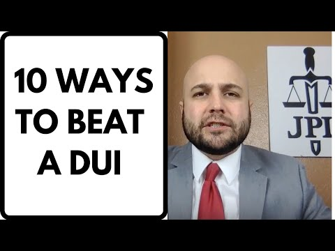 video thumbnail - 10 Ways To Beat A DUI