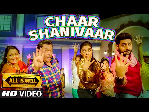 'Chaar Shanivaar' VIDEO Song | All Is Well | Abhis