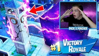 FORTNITE CUBE DESTROYED TILTED TOWERS! LOOT LAKE LAVA EVENT SOON! (Fortnite Battle Royale)