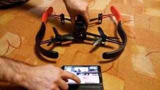 Parrot Bebop 2 Quadcopter Drone with Skycontroller 2 & Cockpit FPV Glasses, 14 MP lens with Full HD