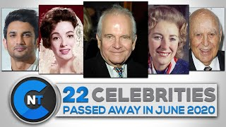 List Of Celebrities Who Passed Away In JUNE 2020 | Latest Celebrity News 2020 (Breaking News)