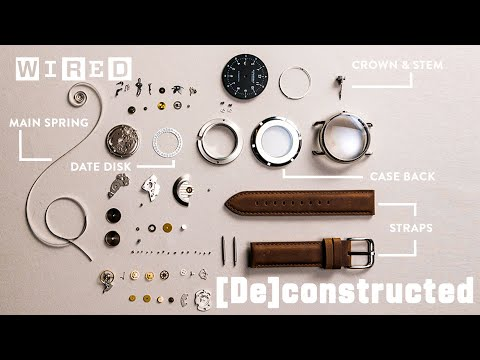 Watchmaker disassembles a Japanese watch and a Swiss watch side-by-side