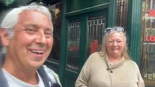 Live - Jon Wedger in Soho with former street worker and crack addict, Nicky - 19th June 2020.