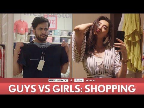 FilterCopy | Guys vs. Girls: Shopping | Ft. Veer Rajwant Singh, Kritika Avasthi, Akash Deep Arora