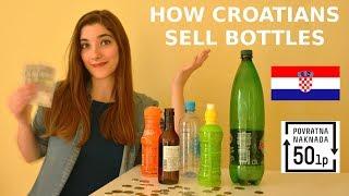 How Do People Sell Bottles In Croatia? | Things Croatian People Do