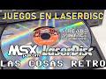 Juegos En Laserdisc Pioneer Msx Palcom Laseractive