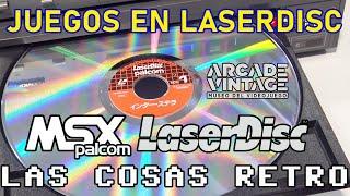 JUEGOS en LASERDISC 📀 PIONEER MSX Palcom
