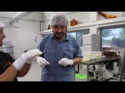 Carles Capdevila visita l'obrador El Rosal