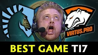 Best game of The International 2017 — Liquid vs VP Tobiwan hype cast