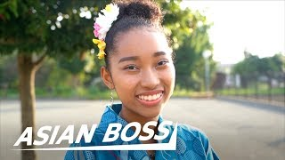 Life As Half Black Half Japanese High School Girl | ASIAN BOSS
