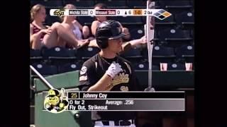 Shocker Baseball vs  Mo St  April 9 2011 Lowell