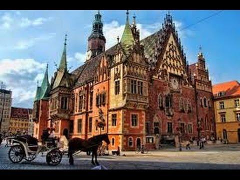 Pologne la ville universitaire de Wrocla