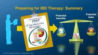 Preparing for IBD therapy