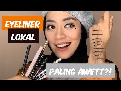 9 Eyeliner Pen Lokal Drugstore, Mana Yang Paling Awet?! Battle, Test dan Review