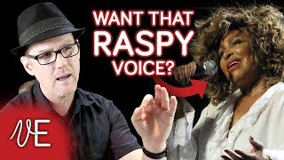 How to develop a RASPY SINGING VOICE: exercise included | #DrDan 🎤