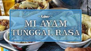 Kuliner Lezat saat Musim Hujan di Jogja, Coba Mi Ayam Legendaris Tunggal Rasa