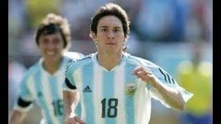Messi: Sus Goles En La Sub-20 De Argentina