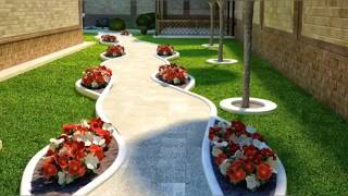 Simple And Beautiful Front Yard  Landscaping Ideas On Budget / Ab Homedecor Ideas