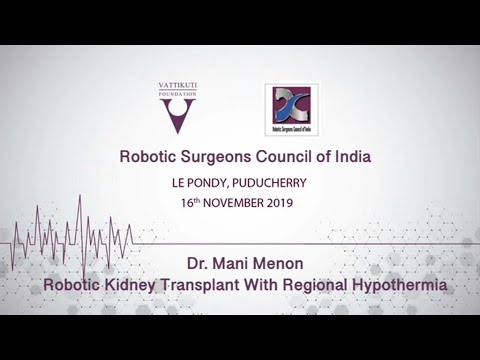 Robotic Kidney Transplant With Regional Hypothermia-RSC
