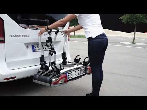Atera | Strada Fahrradträger - Montage der auf der Anhängerkupplungby GÖHRUM Fahrzeugteile GmbH