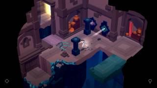 "Lara Croft GO Walkthrough The Mirror of Spirits Level 2 ""The Cellar"""