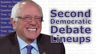 2nd Democratic Debate Lineups and Predictions | QT Politics