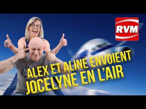 ALEX ET ALINE ENVOIENT JOCELYNE EN L'AIR !