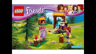 LEGO® Friends 41120 Спортивный лагерь: стрельба из лука. Инструкция по сборке