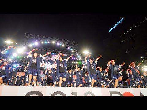 [4K] 稲沢市立大里中学校 『ジュニア部門金賞』 どまつり 2018 ファイナルコンテスト