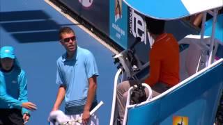 Jerzy Janowicz Meltdown | Australian Open 2013