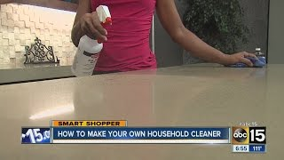 How To Make Your Own Household Cleaner