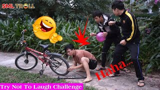 TRY NOT TO LAUGH - Funny Comedy Videos and Best Fails 2019 by SML Troll Ep.74