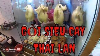 Đi ăn đặc sản Thái Lan gỏi đu đủ và dự hội té nước I DU LỊCH THÁI LAN TỰ TÚC P2 I PHONG BỤI