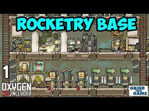 ROCKETRY UPGRADE BASE #1 - Oxygen Not Included - Rockets