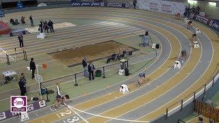Aubière 2018 : Finale 200 m Espoirs F (Estelle Raffai en 23''78)