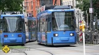 Baustellen-Wendeschleife Sendlingertorplatz Linie 16/17/18