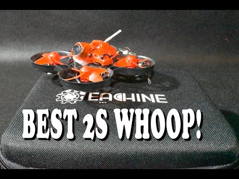 Il miglior 2S Brushless Whoop? Eachine Trashcan!