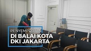 Balai Kota DKI Jakarta Disemprot Disinfektan, Bentuk Antisipasi Virus Corona