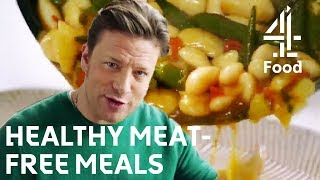 Jamie Olivers Healthy & Delicious Meat-Free Meals
