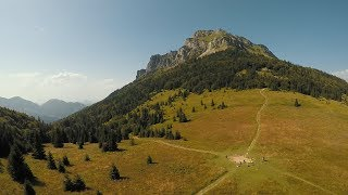 Hiking up to Maly (Small) 1,343 m and Velky (Big) Rozsutec 1,609 m via the lower and upper Janosik G