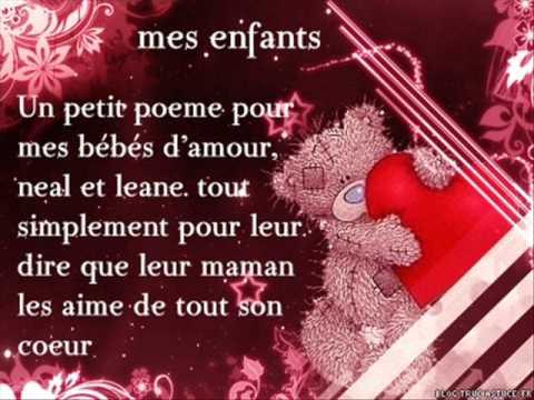 Poeme Pour Mes Enfants Mes Poeme Prefere